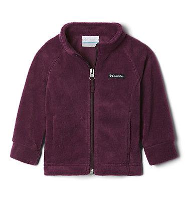 Girls' Infant Benton Springs™ Fleece Jacket Benton Springs™ Fleece   618   12/18, Purple Dahlia, front