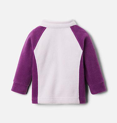 Girls' Infant Benton Springs™ Fleece Jacket Benton Springs™ Fleece | 618 | 3/6, Plum, Pale Lilac, back