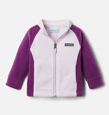 Girls' Infant Benton Springs™ Fleece Jacket Benton Springs™ Fleece | 618 | 3/6, Plum, Pale Lilac, front