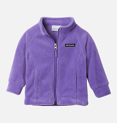 Girls' Infant Benton Springs™ Fleece Jacket Benton Springs™ Fleece | 618 | 12/18, Grape Gum, front