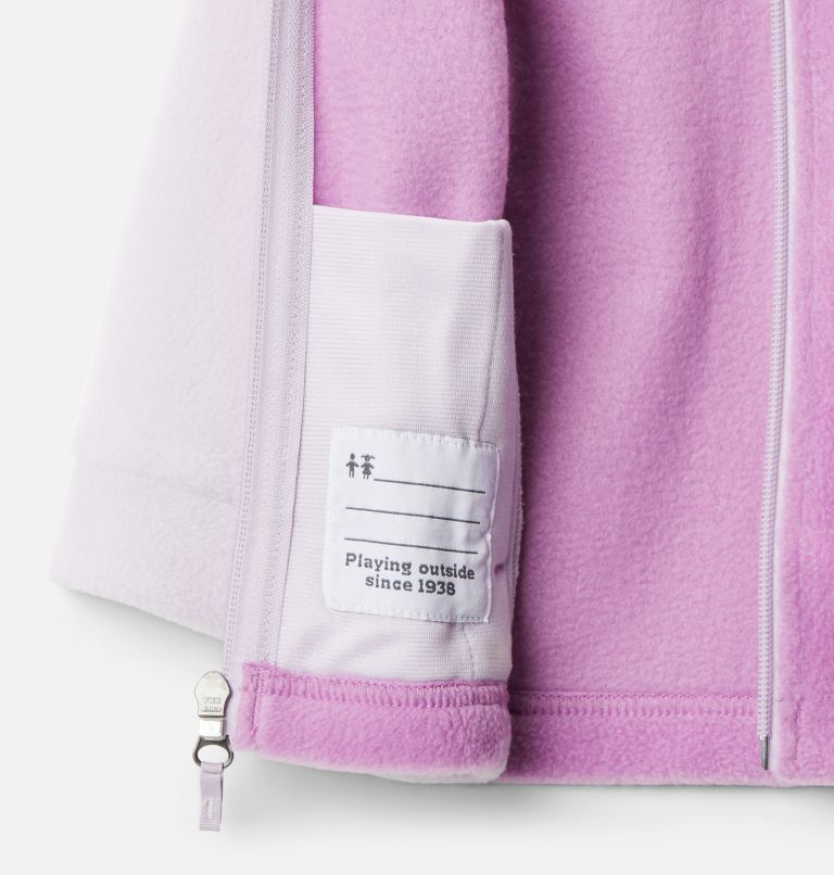Benton Springs™ Fleece | 585 | 12/18 Girls' Infant Benton Springs™ Fleece Jacket, Pale Lilac, Blossom Pink, a1