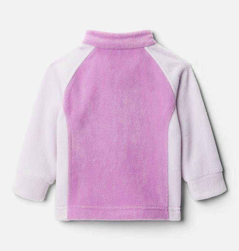 Benton Springs™ Fleece | 585 | 12/18 Girls' Infant Benton Springs™ Fleece Jacket, Pale Lilac, Blossom Pink, back