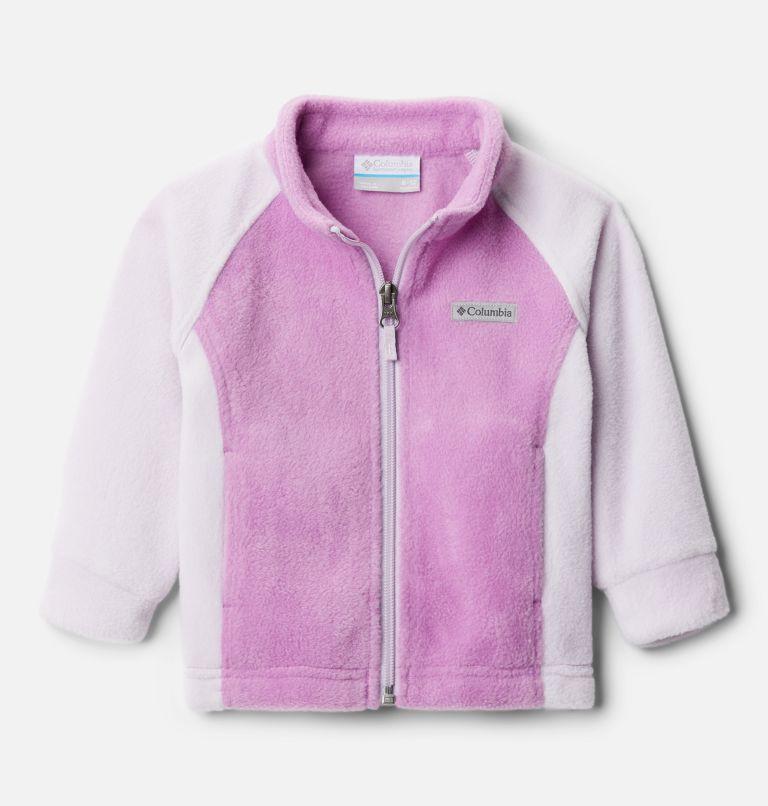 Benton Springs™ Fleece | 585 | 12/18 Girls' Infant Benton Springs™ Fleece Jacket, Pale Lilac, Blossom Pink, front
