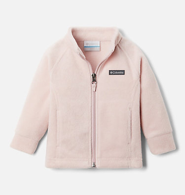 Girls' Infant Benton Springs™ Fleece Jacket Benton Springs™ Fleece | 618 | 12/18, Mineral Pink, front