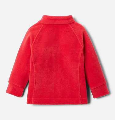 Girls' Infant Benton Springs™ Fleece Jacket Benton Springs™ Fleece | 618 | 3/6, Red Lily, back