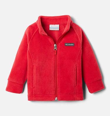 Girls' Infant Benton Springs™ Fleece Jacket Benton Springs™ Fleece | 618 | 3/6, Red Lily, front