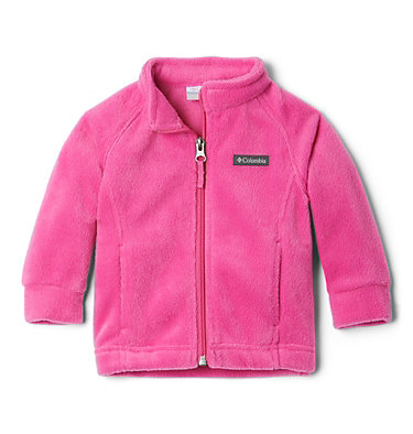 Girls' Infant Benton Springs™ Fleece Jacket Benton Springs™ Fleece | 618 | 12/18, Pink Ice, front