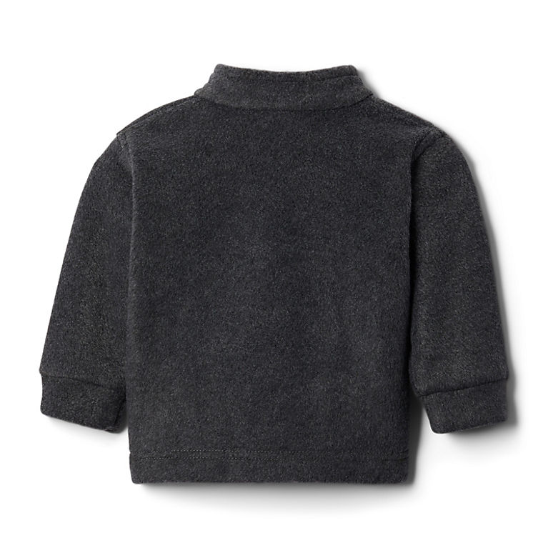 New Columbia Black Charcoal Fleece ZIP Jacket Infant Baby 12-18 Months