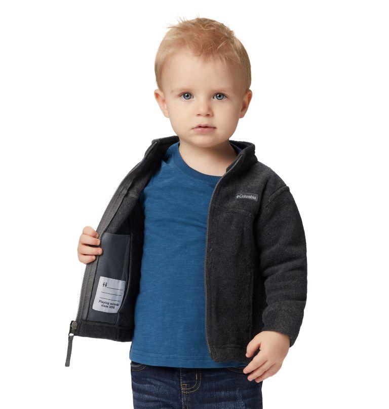 Steens Mt™ II Fleece   008   18/24 Boys' Infant Steens Mountain™ II Fleece Jacket, Charcoal Heather, a4