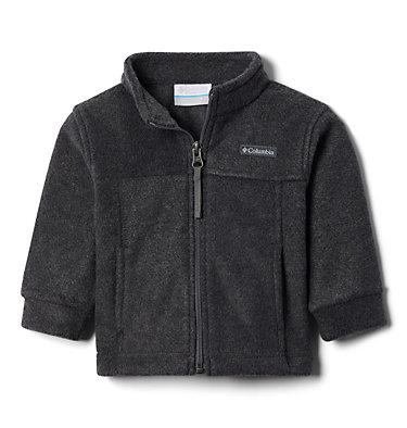 Boys' Infant Steens Mountain™ II Fleece Jacket Steens Mt™ II Fleece | 030 | 12/18, Charcoal Heather, 3/4 front