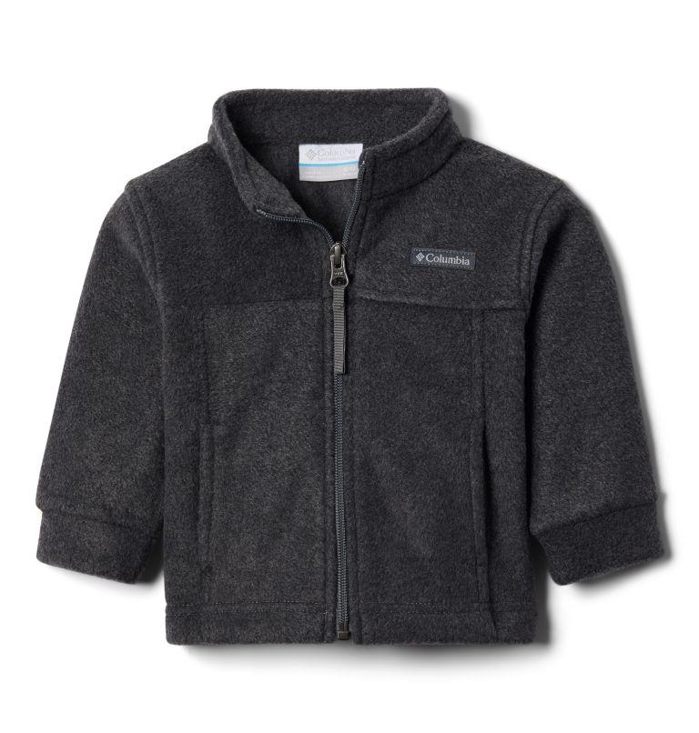 Steens Mt™ II Fleece   008   18/24 Boys' Infant Steens Mountain™ II Fleece Jacket, Charcoal Heather, 3/4 front