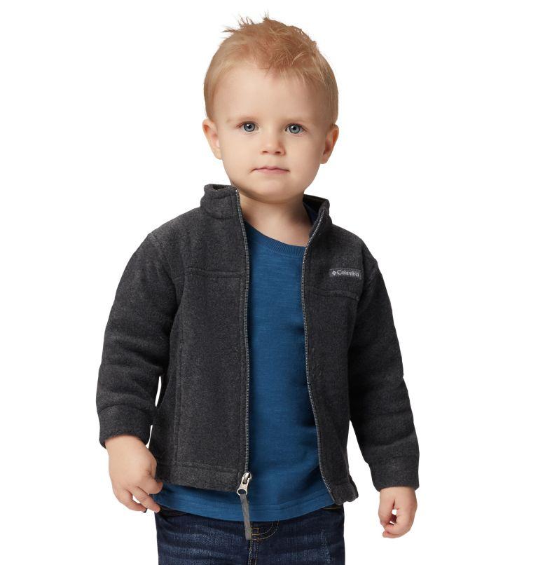 Steens Mt™ II Fleece   008   18/24 Boys' Infant Steens Mountain™ II Fleece Jacket, Charcoal Heather, front