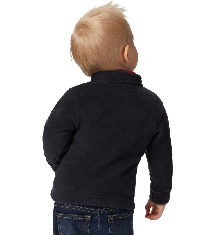 Steens Mt™ II Fleece | 010 | 3/6 Boys' Infant Steens Mountain™ II Fleece Jacket, Black, a3