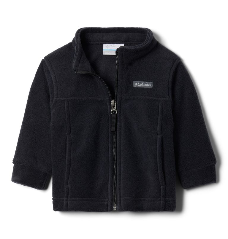 Steens Mt™ II Fleece | 010 | 3/6 Boys' Infant Steens Mountain™ II Fleece Jacket, Black, back