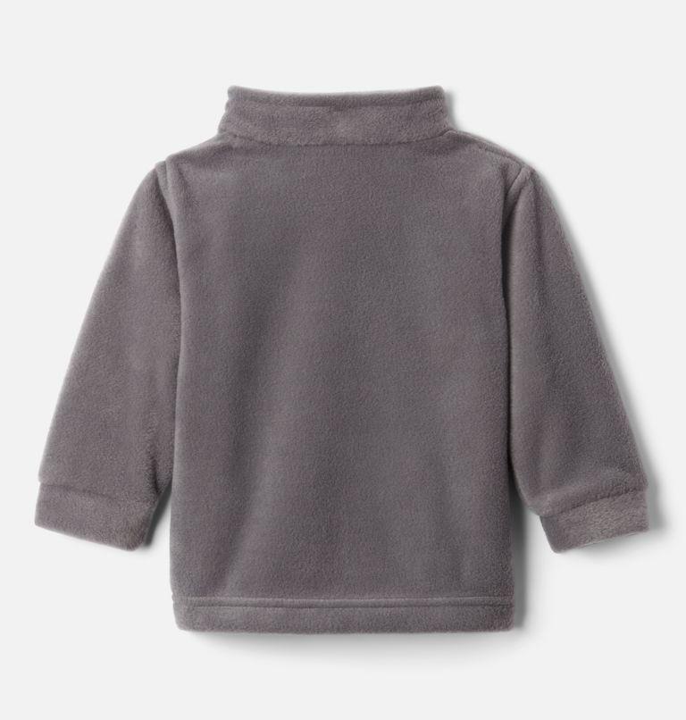 Steens Mt™ II Fleece | 024 | 18/24 Boys' Infant Steens Mountain™ II Fleece Jacket, City Grey, Flame Orange, back