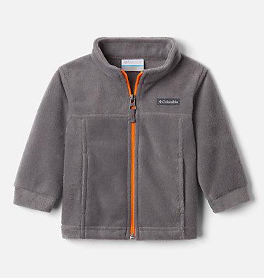 Boys' Infant Steens Mountain™ II Fleece Jacket Steens Mt™ II Fleece | 030 | 12/18, City Grey, Flame Orange, front