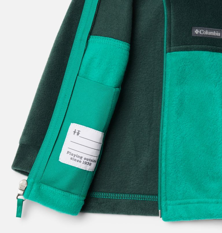 Steens Mt™ II Fleece | 374 | 3/6 Boys' Infant Steens Mountain™ II Fleece Jacket, Emerald Green, Spruce, a1