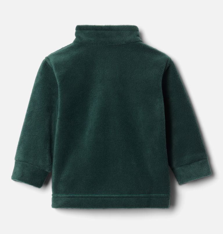 Steens Mt™ II Fleece | 374 | 3/6 Boys' Infant Steens Mountain™ II Fleece Jacket, Emerald Green, Spruce, back