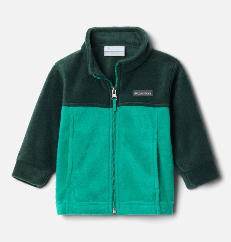 Steens Mt™ II Fleece | 374 | 3/6 Boys' Infant Steens Mountain™ II Fleece Jacket, Emerald Green, Spruce, front