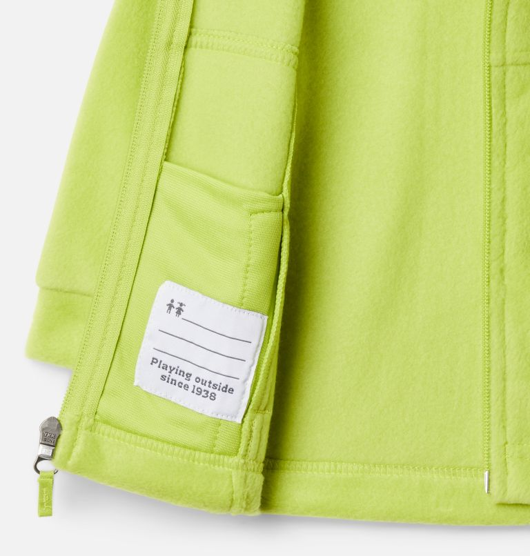 Steens Mt™ II Fleece | 386 | 6/12 Boys' Infant Steens Mountain™ II Fleece Jacket, Bright Chartreuse, a1