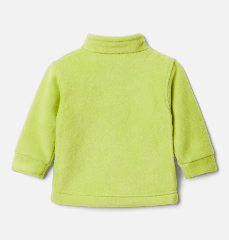 Steens Mt™ II Fleece | 386 | 6/12 Boys' Infant Steens Mountain™ II Fleece Jacket, Bright Chartreuse, back