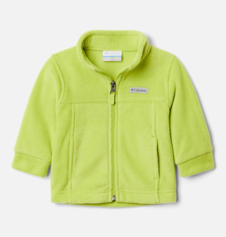 Steens Mt™ II Fleece | 386 | 3/6 Boys' Infant Steens Mountain™ II Fleece Jacket, Bright Chartreuse, front