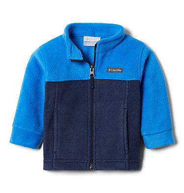 Boys' Infant Steens Mountain™ II Fleece Jacket Steens Mt™ II Fleece | 030 | 12/18, Collegiate Navy, Super Blue, 3/4 front