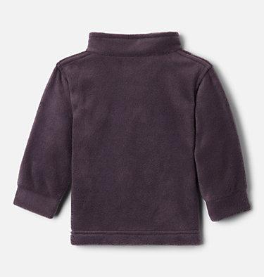 Boys' Infant Steens Mountain™ II Fleece Jacket Steens Mt™ II Fleece | 030 | 12/18, Dark Purple, Columbia Grey, back