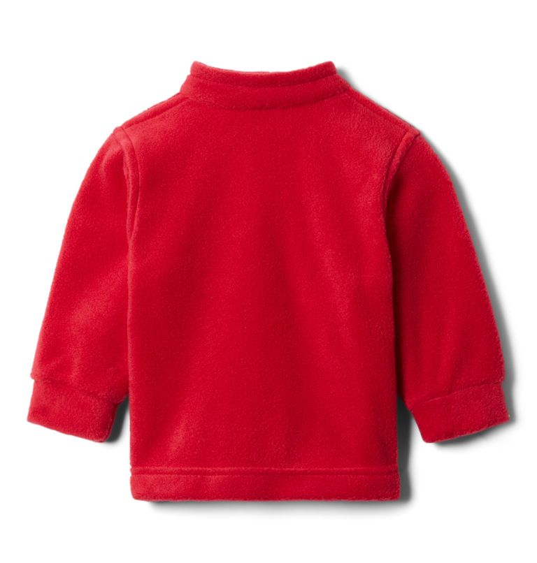 Steens Mt™ II Fleece | 614 | 6/12 Boys' Infant Steens Mountain™ II Fleece Jacket, Mountain Red, a1