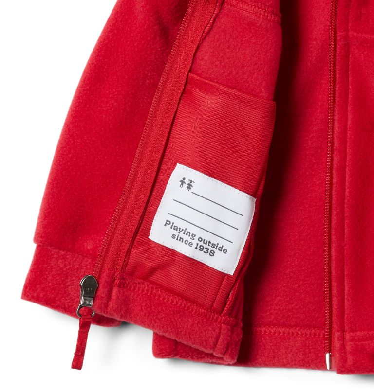 Steens Mt™ II Fleece | 614 | 6/12 Boys' Infant Steens Mountain™ II Fleece Jacket, Mountain Red, a2