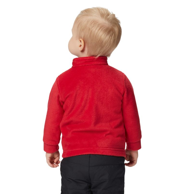 Steens Mt™ II Fleece | 614 | 6/12 Boys' Infant Steens Mountain™ II Fleece Jacket, Mountain Red, a3