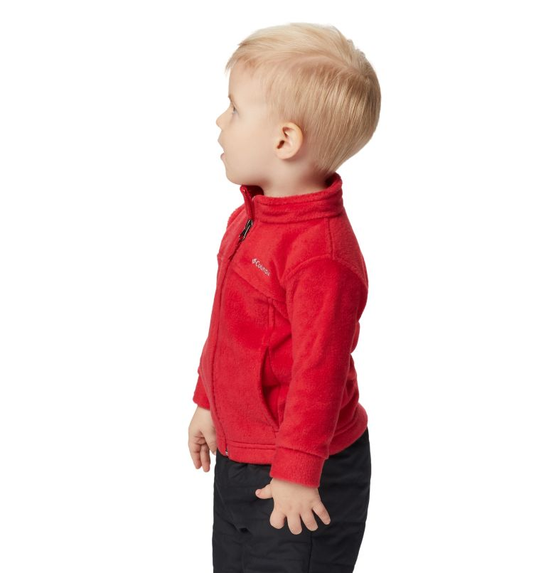 Steens Mt™ II Fleece | 614 | 6/12 Boys' Infant Steens Mountain™ II Fleece Jacket, Mountain Red, a4