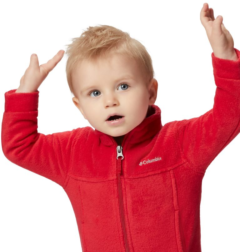 Steens Mt™ II Fleece | 614 | 6/12 Boys' Infant Steens Mountain™ II Fleece Jacket, Mountain Red, a5