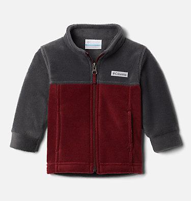 Boys' Infant Steens Mountain™ II Fleece Jacket Steens Mt™ II Fleece | 030 | 12/18, Red Jasper, Shark, front