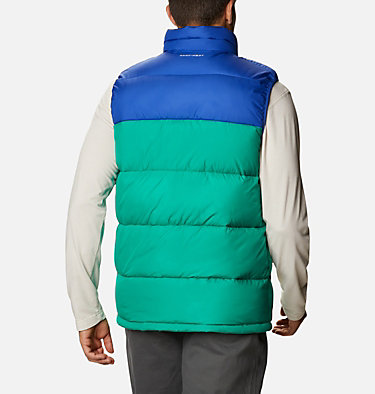 Chaleco Pike Lake™ para hombre Pike Lake™ Vest | 043 | S, Emerald Green, Lapis Blue, back