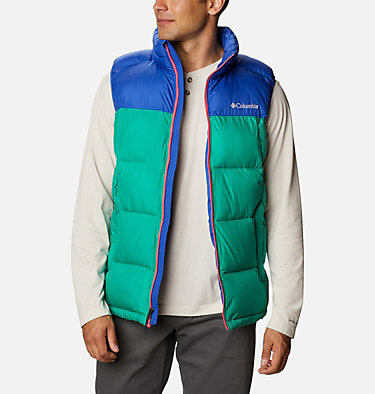 Men's Pike Lake™ Vest Pike Lake™ Vest | 043 | S, Emerald Green, Lapis Blue, front