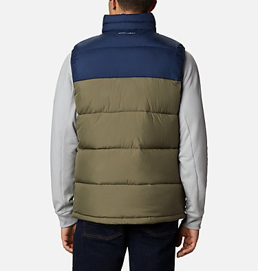 Chaleco Pike Lake™ para hombre Pike Lake™ Vest | 043 | S, Stone Green, Collegiate Navy, back