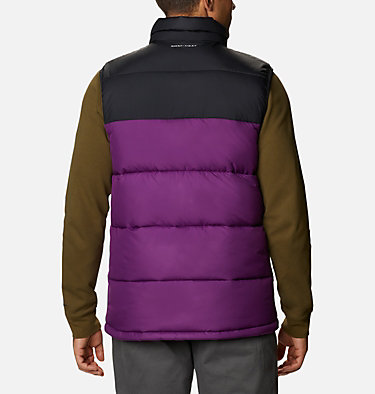 Chaleco Pike Lake™ para hombre Pike Lake™ Vest | 043 | S, Plum, Black, back