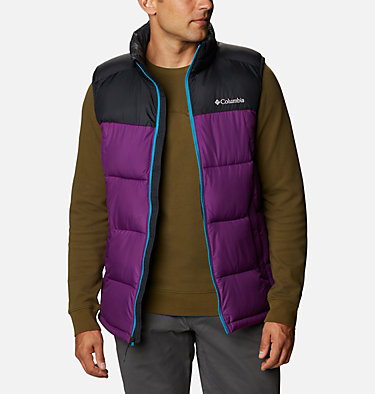 Chaleco Pike Lake™ para hombre Pike Lake™ Vest | 043 | S, Plum, Black, front