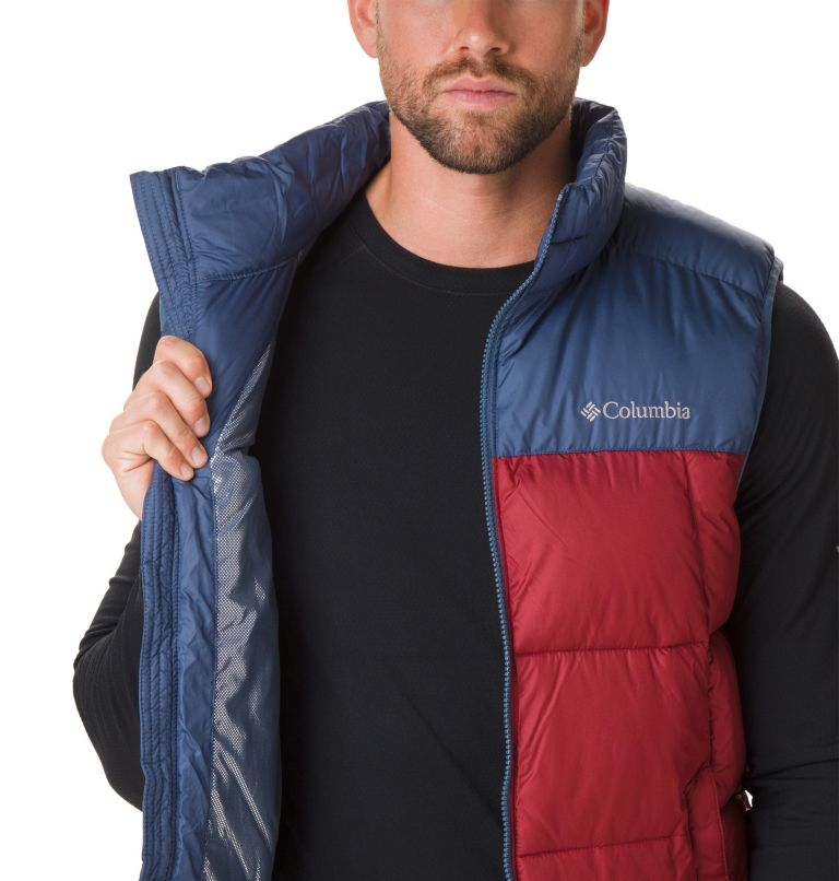 Pike Lake™ Vest | 664 | XL Veste Sans Manches Pike Lake™ Homme, Red Jasper, Dark Mountain, a1