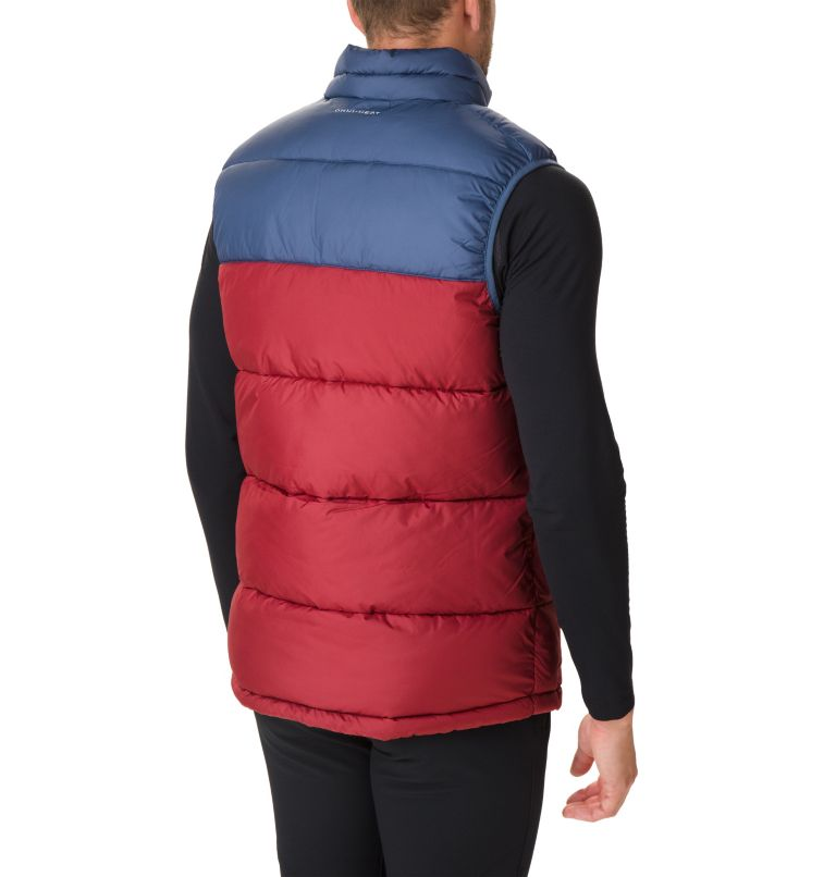 Pike Lake™ Vest | 664 | XL Veste Sans Manches Pike Lake™ Homme, Red Jasper, Dark Mountain, back
