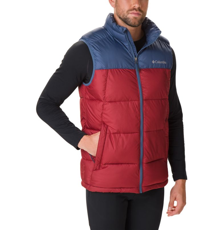 Pike Lake™ Vest | 664 | XL Veste Sans Manches Pike Lake™ Homme, Red Jasper, Dark Mountain, front