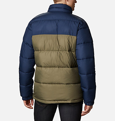 Chaqueta Pike Lake™ para hombre Pike Lake™ Jacket | 009 | S, Stone Green, Collegiate Navy, back