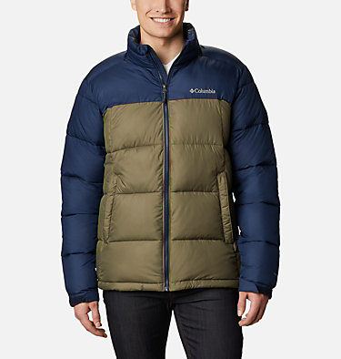 Chaqueta Pike Lake™ para hombre Pike Lake™ Jacket | 009 | S, Stone Green, Collegiate Navy, front