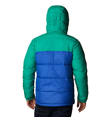 Men's Pike Lake™ Hooded Jacket Pike Lake™ Hooded Jacket | 242 | S, Lapis Blue, Emerald Green, back