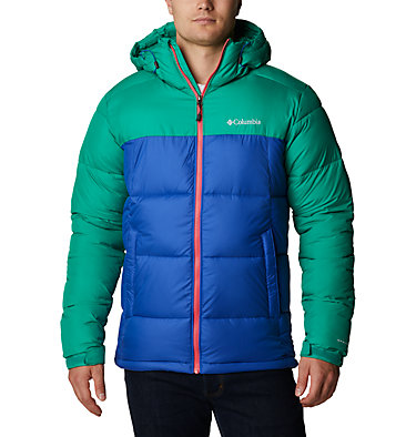 Men's Pike Lake™ Hooded Jacket Pike Lake™ Hooded Jacket | 242 | S, Lapis Blue, Emerald Green, front
