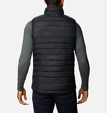 Men's Powder Lite™ Vest Powder Lite™ Vest | 820 | S, Black, back