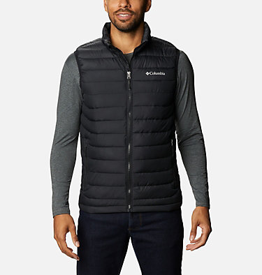 Powder Lite Weste für Herren Powder Lite™ Vest   664   S, Black, front