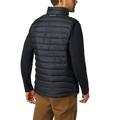 Men's Powder Lite Vest Powder Lite™ Vest | 664 | S, Black, back