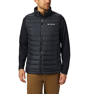 Men's Powder Lite Vest Powder Lite™ Vest | 664 | S, Black, front